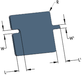 diagram of a stamped part